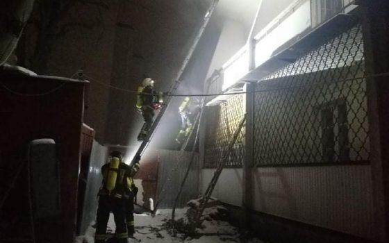 В Одессе горело общежитие ВУЗа (фото) «фото»