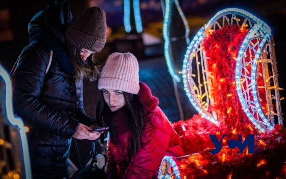Огни ночной Одессы: центр  вот-вот покинет праздничная иллюминация (фото) «фото»
