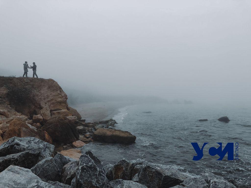 Туман над одесским побережьем: 9 кадров (фото) «фото»