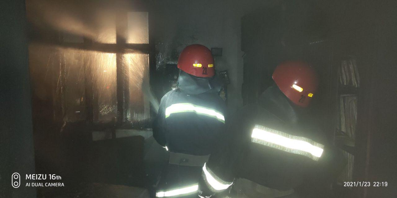 Ночью в Измаиле горел частный дом: есть пострадавший (фото) «фото»