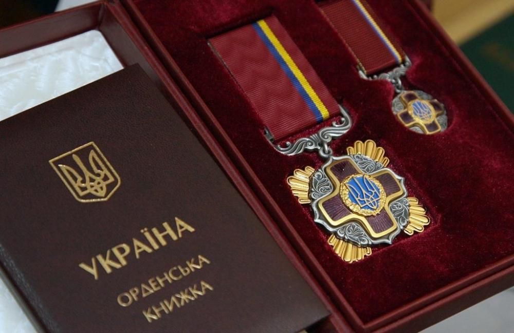 Шесть представителей Одесской области получили награды от президента Украины «фото»