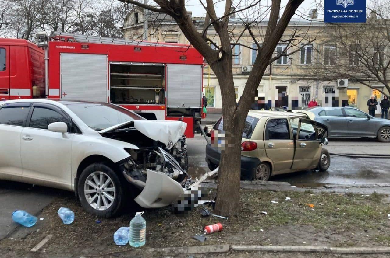 В аварии на Мясоедовской пострадал ребенок (фото) «фото»