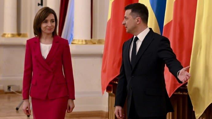 Создали Президентский совет: Майя Санду и Владимир Зеленский сделали совместное заявление «фото»