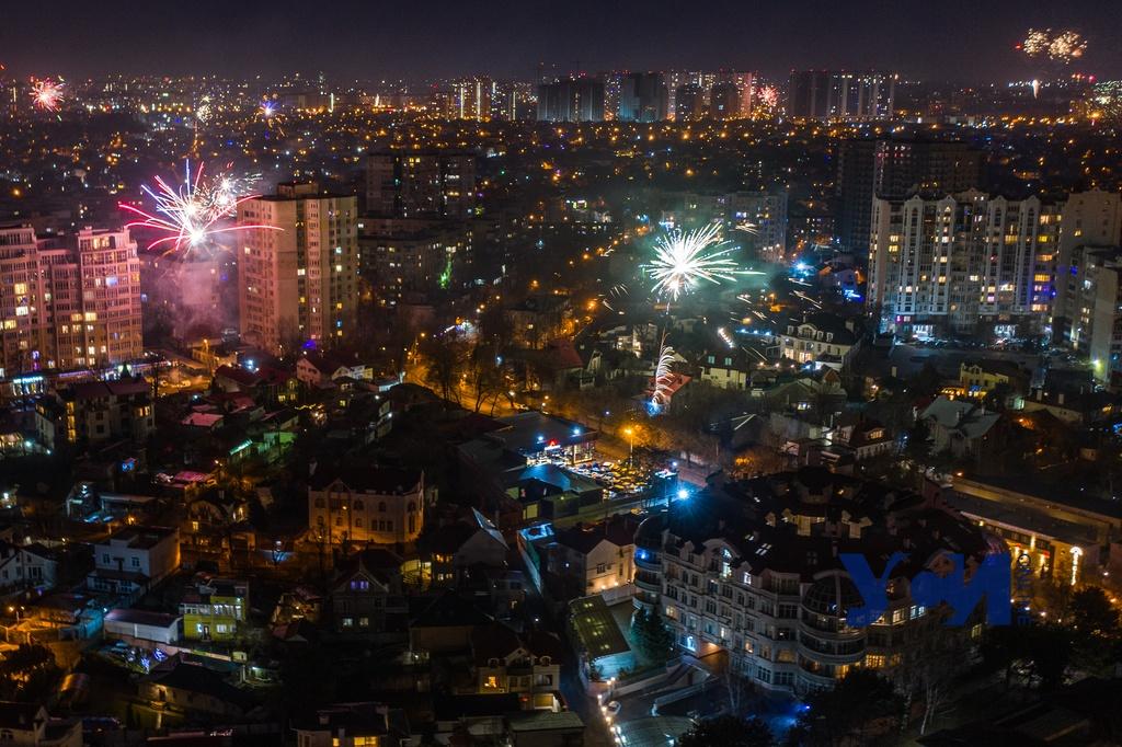 Праздничный салют в Одессе: как это было (фото, видео) «фото»