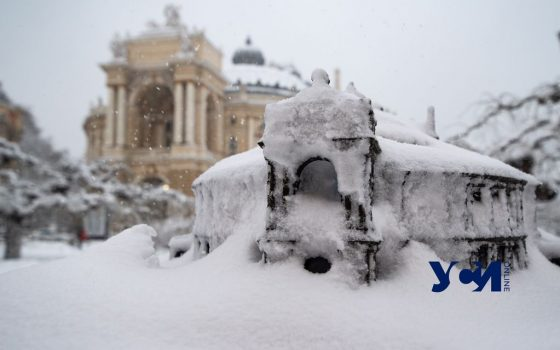 Январская метель: 25 кадров одесской зимы (фото) «фото»