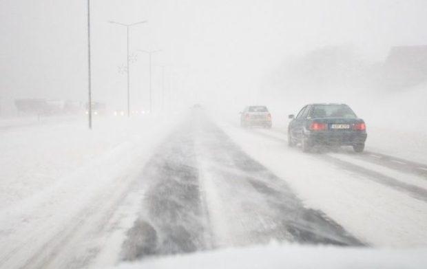В Одесской области из-за непогоды закрывают дороги (документ) «фото»