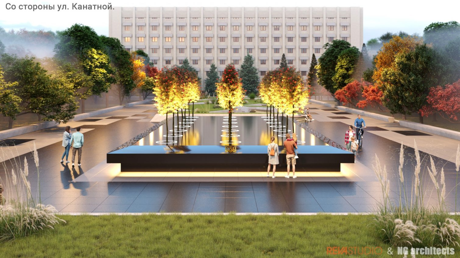 В Одессе представили концепцию мемориала воинам АТО (фото) «фото»