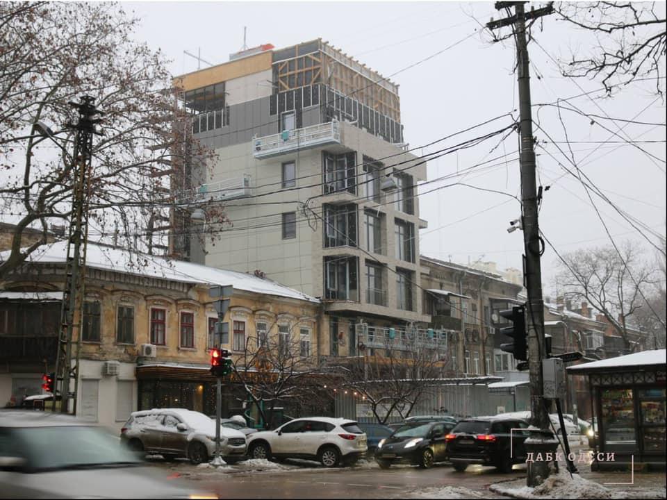Суд разрешил строительство 7-этажного отеля в центре Одессы (фото) «фото»