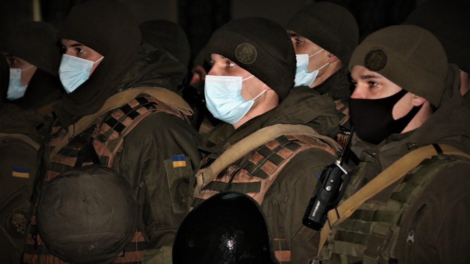 Одесские нацгвардейцы вернулись домой из зоны ООС (фото) «фото»