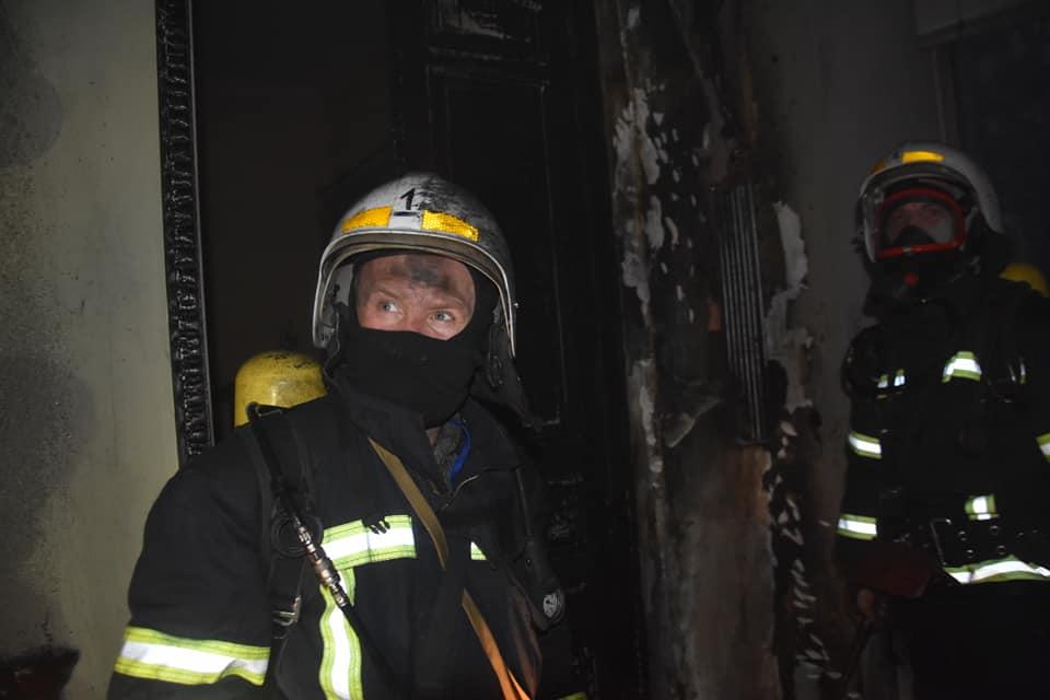 На Екатерининской из-за кондиционера горела квартира (фото) «фото»