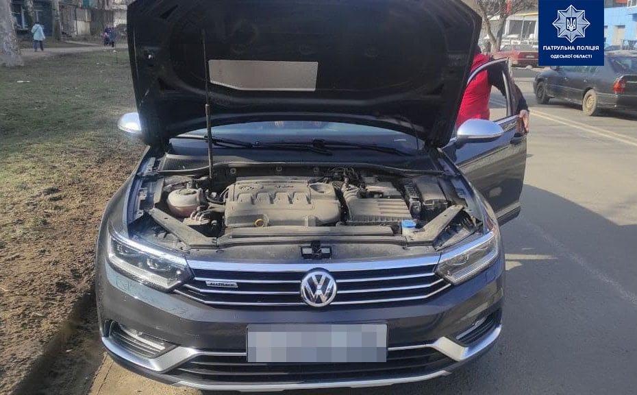 В Одессе нашли автомобиль, который был в международном розыске «фото»