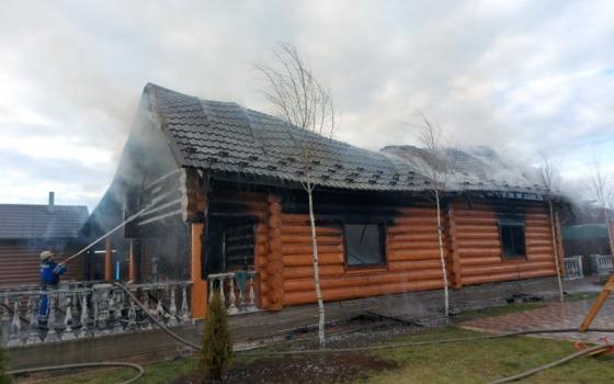 В Одесской области дотла сгорела сауна (фото) «фото»