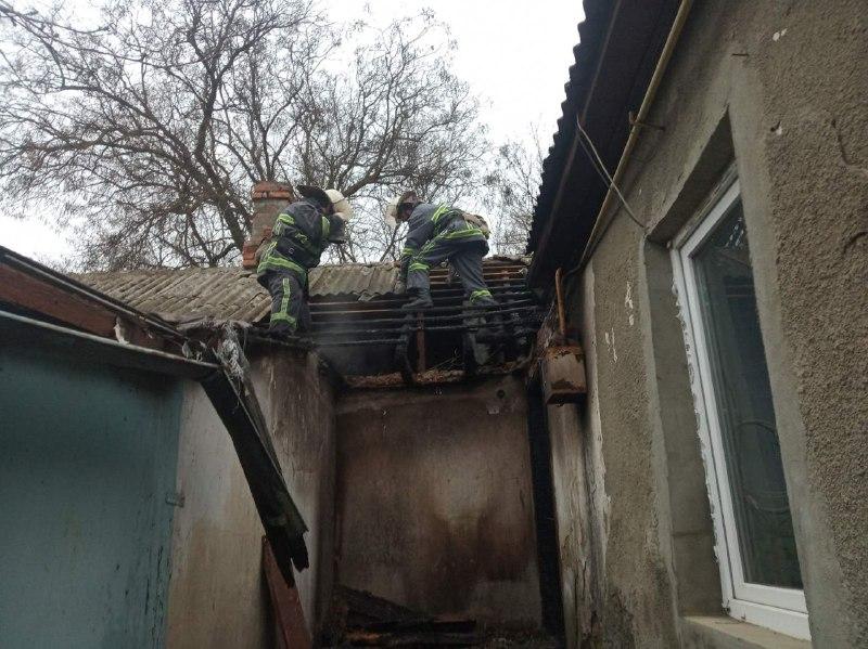 В Болграде на пожаре погиб мужчина (фото) «фото»