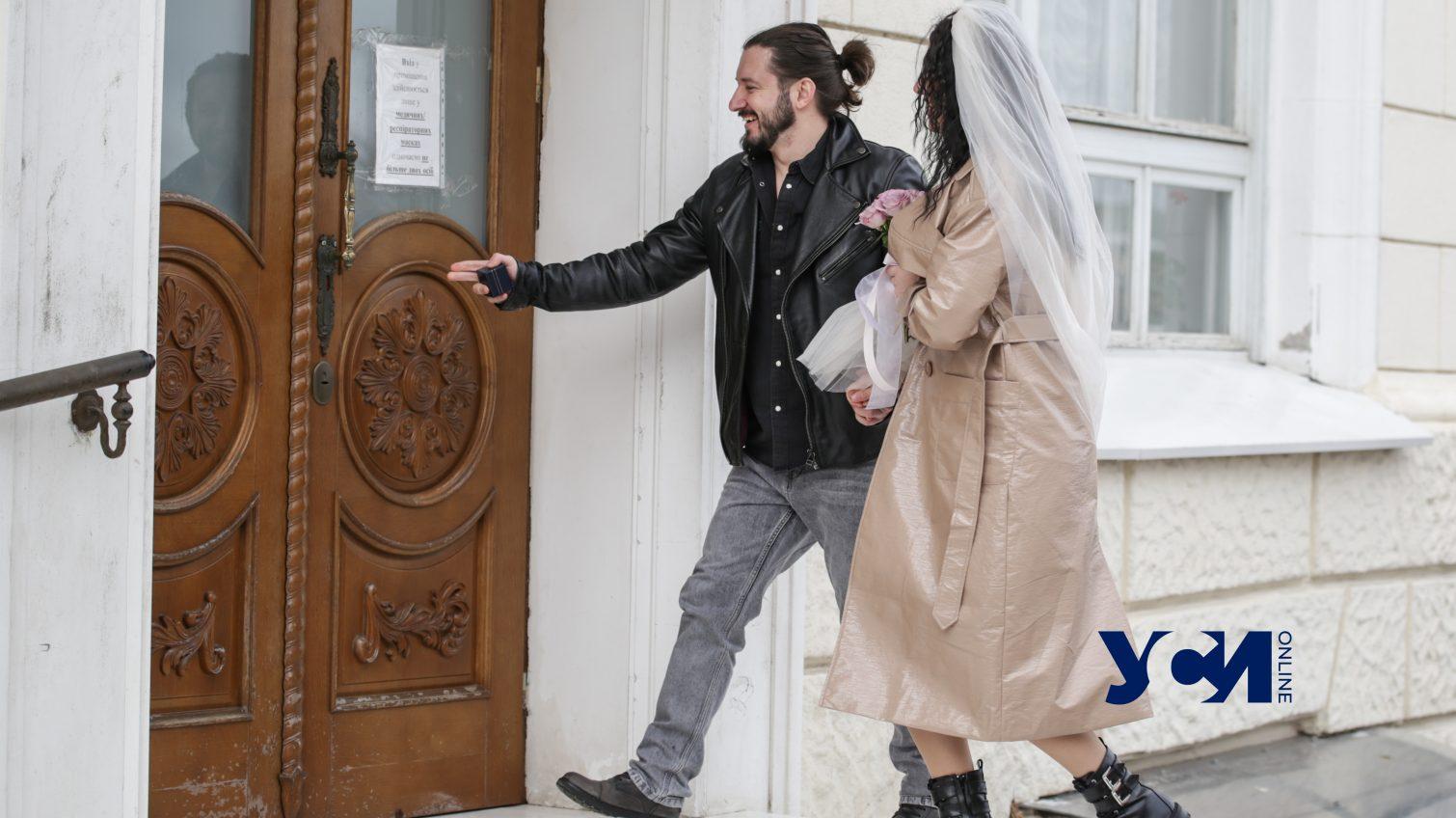 Свадьбы романтиков: как проходит День влюбленных в главном ЗАГСе Одессы (фото) «фото»