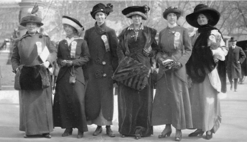 Феминизм, 8 марта и женские протесты: как это было в прошлом веке «фото»
