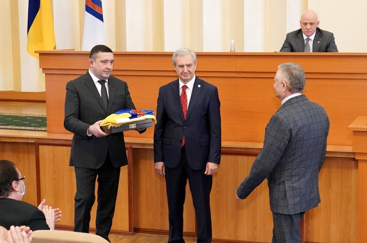 Экс-тренер «Черноморца» и ректор Педина стали Почетными гражданами Одесской области (фото) «фото»