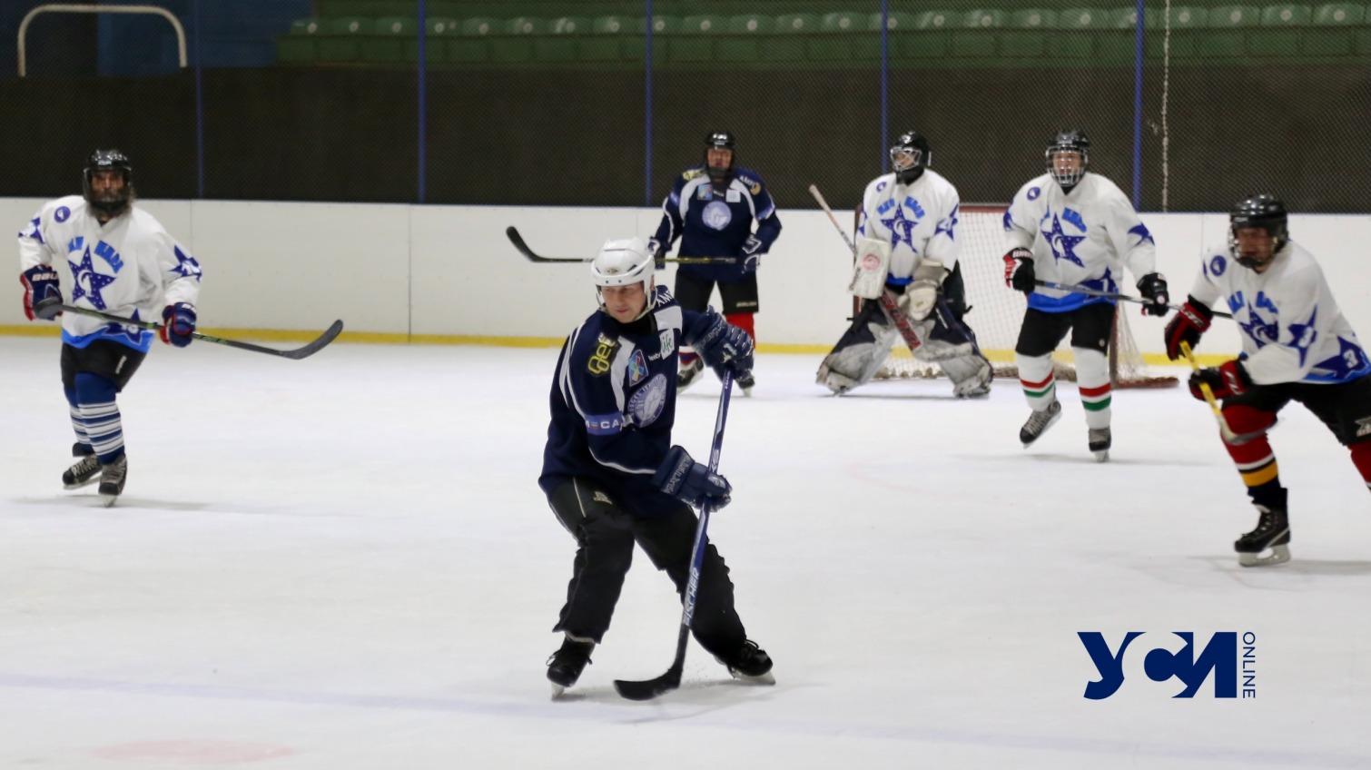 Красота хоккея: в Одессе встретились аматорские команды  (фото) «фото»