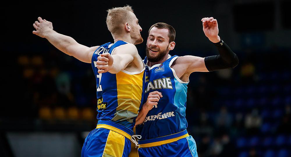 Сборная Украины с игроками «Химика» в составе разгромила Венгрию в отборе к Евробаскету-2022 (фото) «фото»
