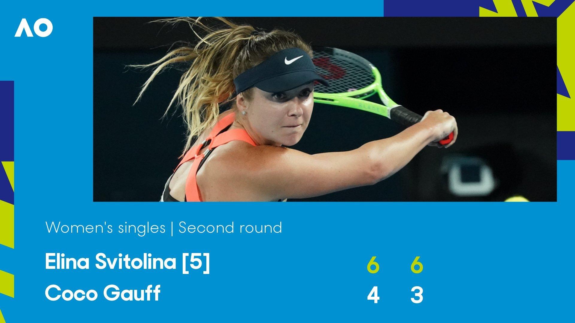 Одесситка Свитолина вышла в третий круг Australian Open