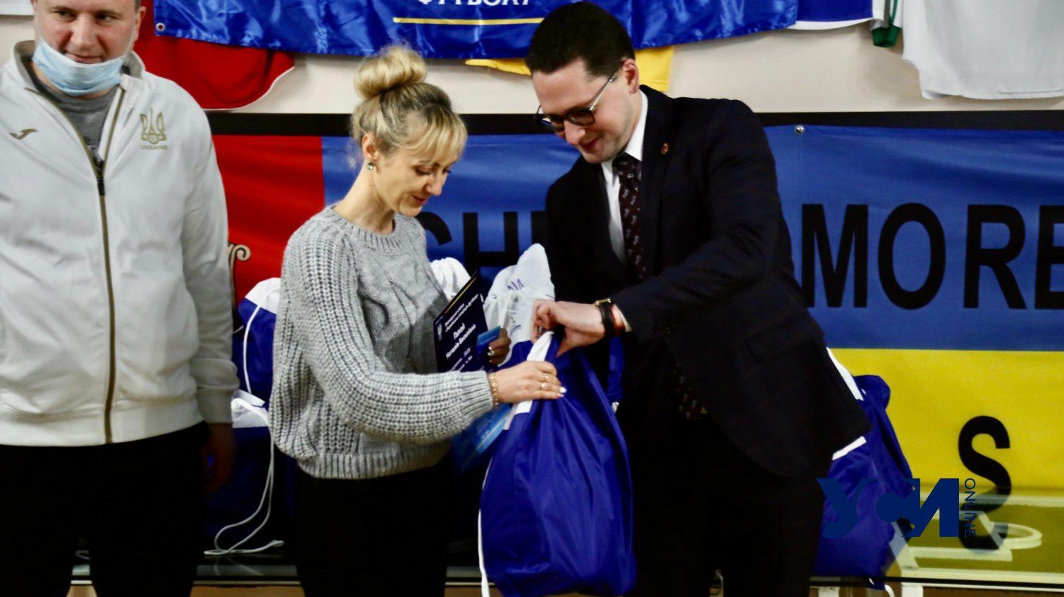 Одесские учителя физкультуры получили тренерские дипломы (фото) «фото»