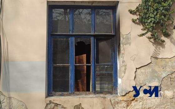 В центре Одессы горел дом: есть пострадавший (фото) «фото»