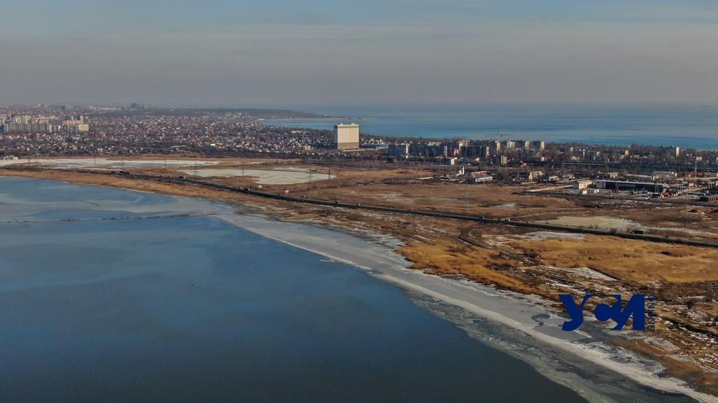 Одесские лиманы: Куяльник так и не замерз, Хаджибей – уже оттаивает (фото) «фото»