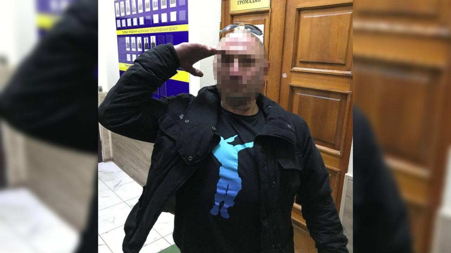 Угрожал ножом: на Греческой задержали наркомана (фото) «фото»