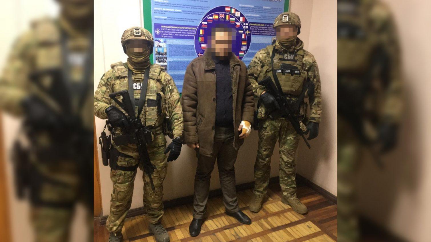 В Одесской области СБУ задержала командира диверсантов ЛНР (фото, видео) «фото»