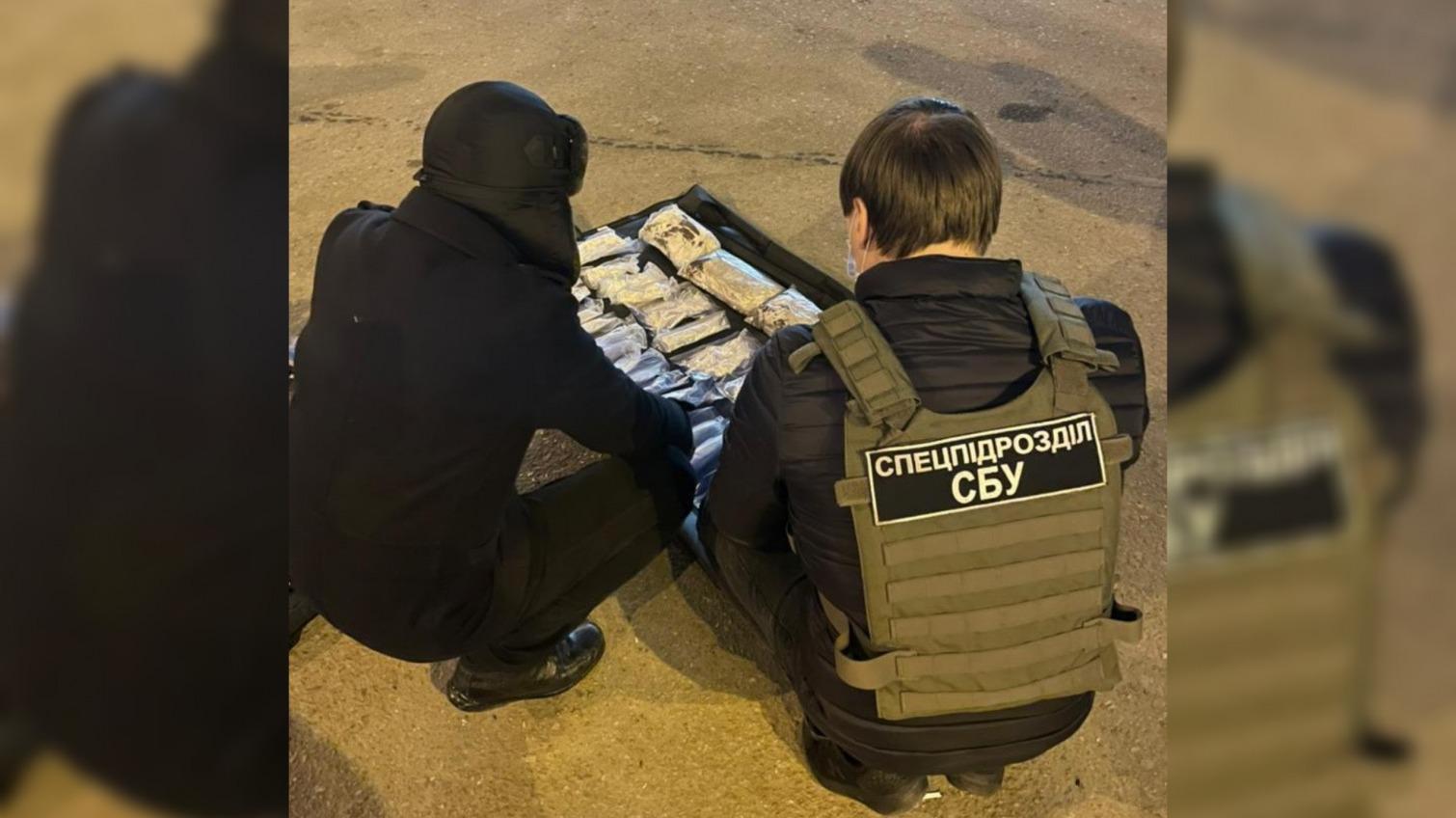 СБУ задержала курьера с 4 килограммами амфетамина на пути из Киева в Одессу (фото) «фото»