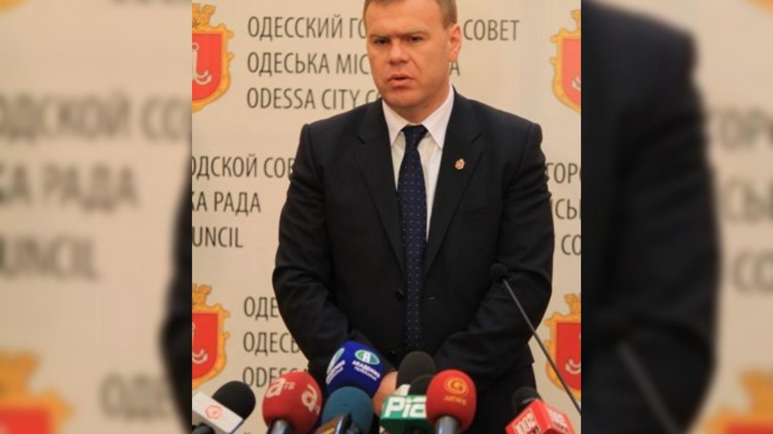 В Одессе уволили главного по городским дорогам «фото»