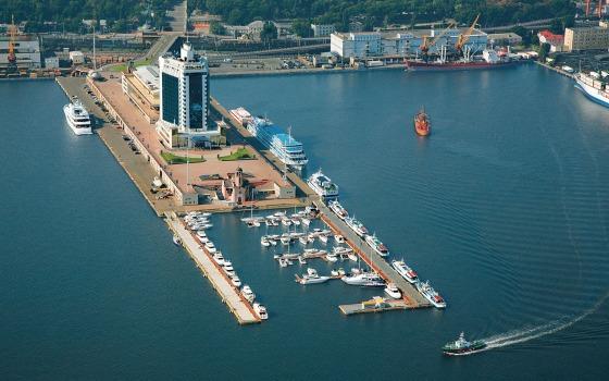 Одесский порт «заминировали» ОБНОВЛЕНО «фото»