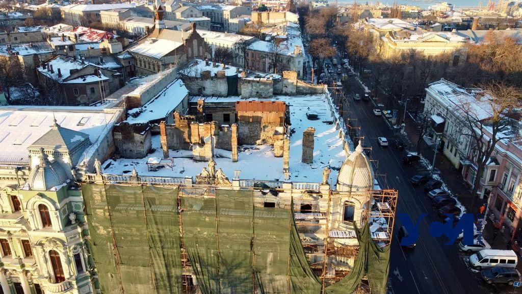 На реставрацию фасада и кровли дома Либмана ищут нового подрядчика «фото»
