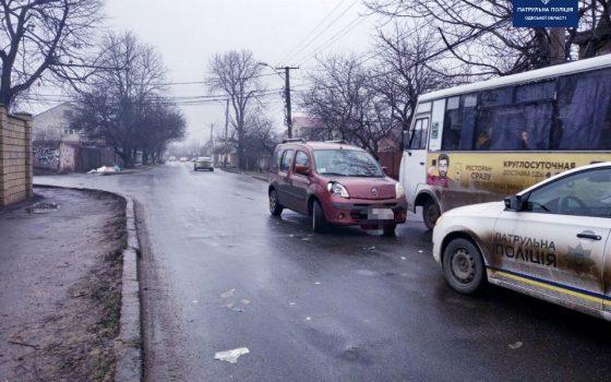 На Таирова сбили пешехода «фото»