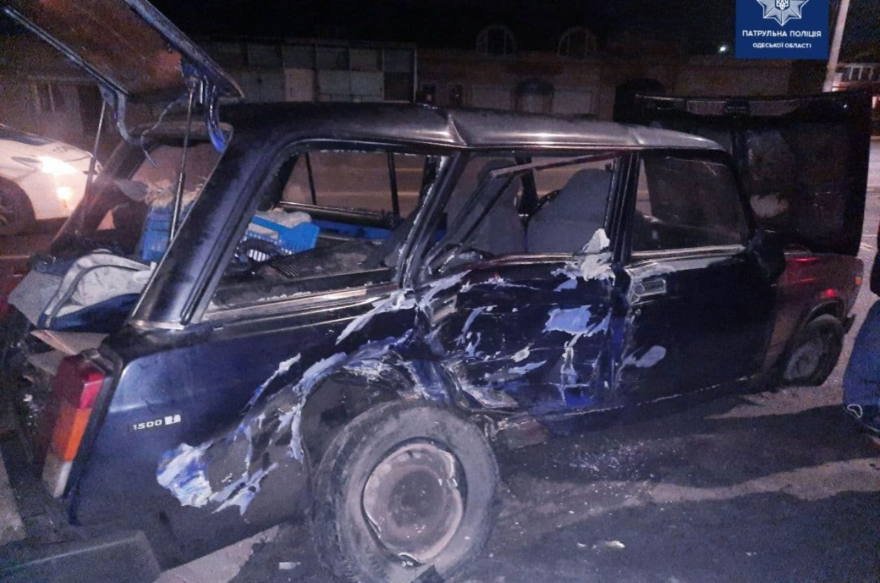На Николаевской дороге в ДТП пострадал пенсионер (фото) «фото»