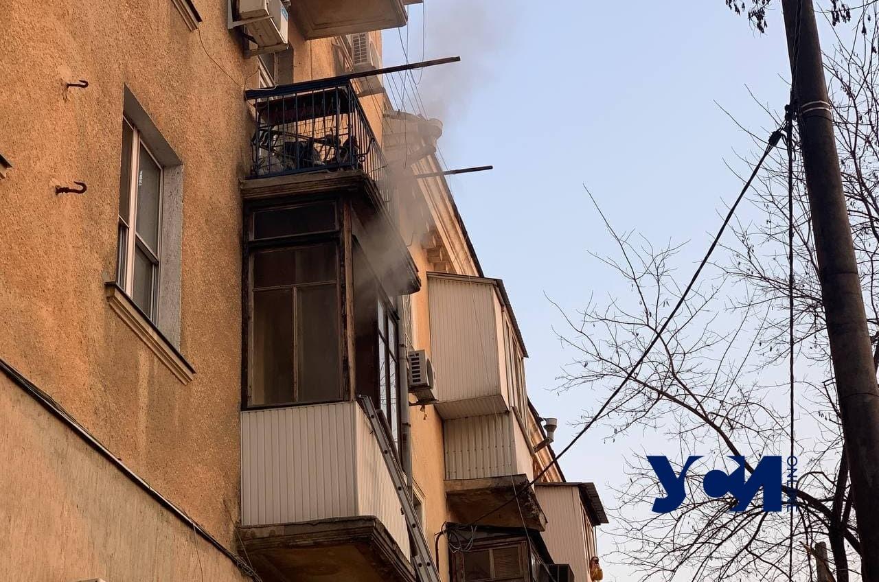 На Старопортофранковской горит квартира: погибла женщина (фото) Обновлено «фото»