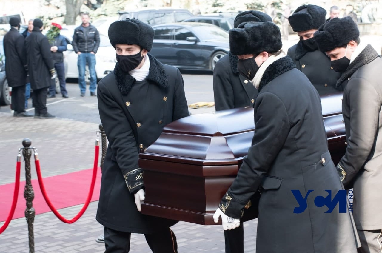В Одессе прощаются с судьей Валерием Балухом (фото) «фото»