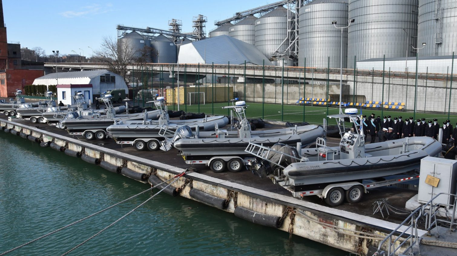 ВМС Украины в Одессе получили 80 катеров от США (фото) «фото»