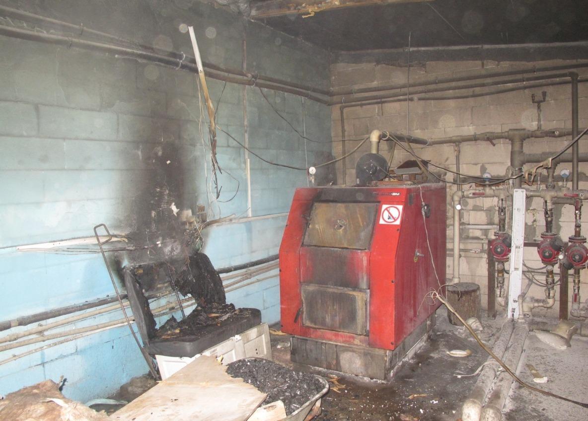 В Одесской области горела котельная – пострадал охранник (фото) «фото»