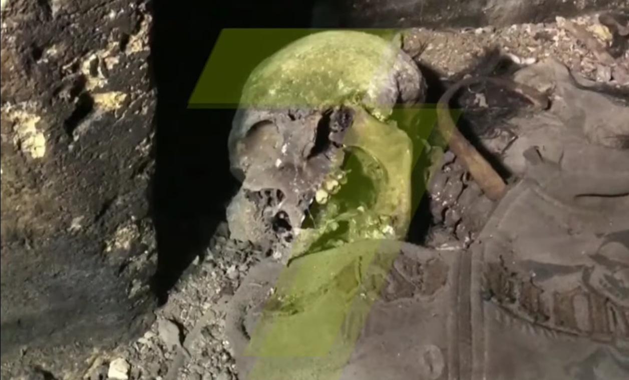 Человеческие останки нашли в катакомбах в центре Одессы (видео) «фото»