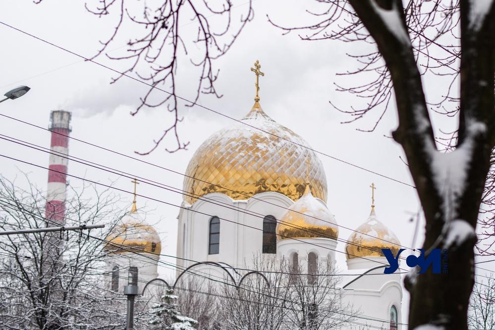 Зимняя Одесса: яркие фотографии заснеженного города (фото) «фото»