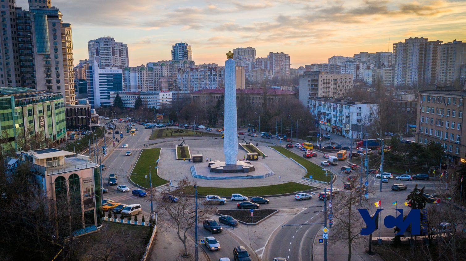 Одесса в лучах уходящего февральского дня (фото, видео) «фото»