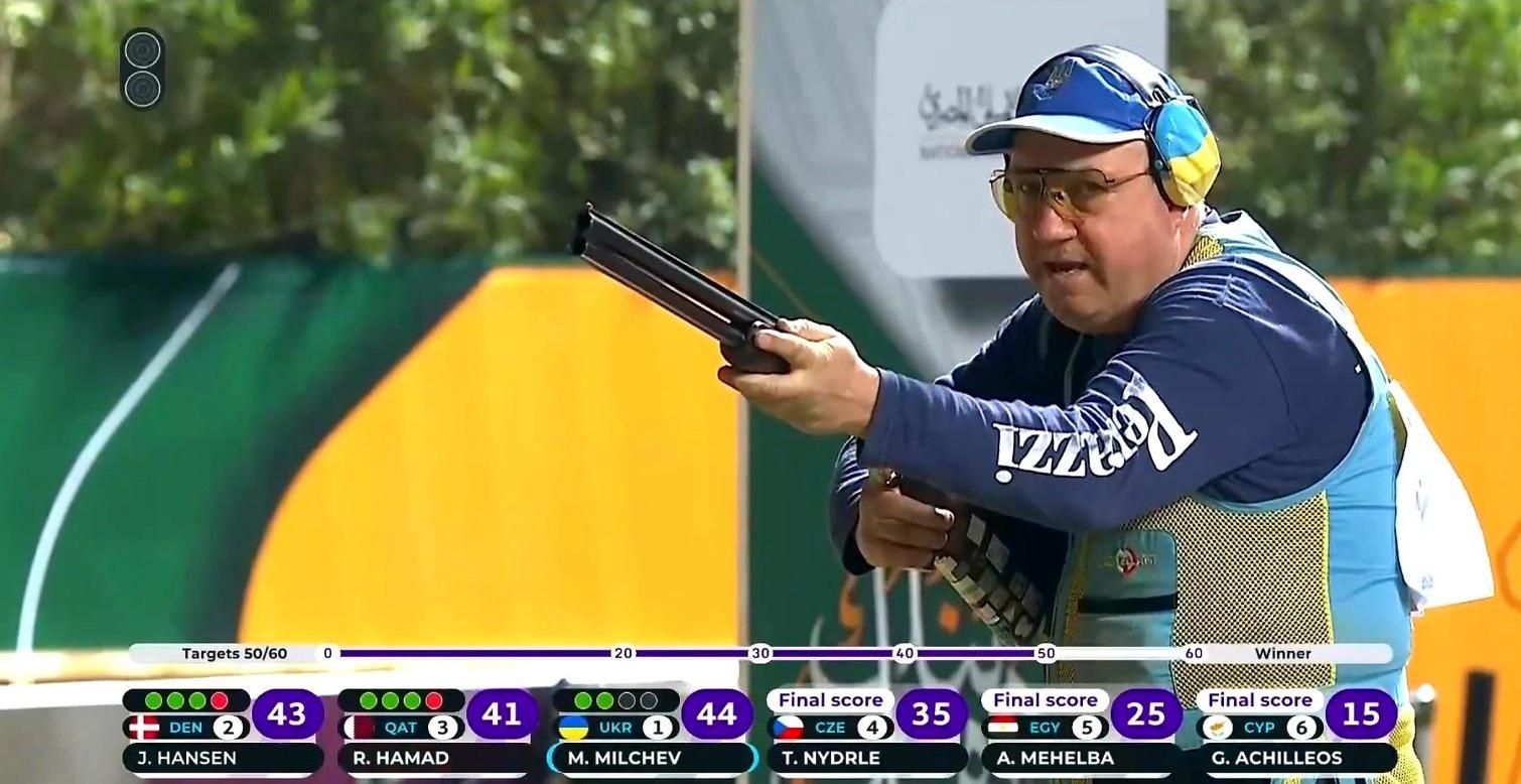 Одессит победил на этапе Кубка мира по стендовой стрельбе (фото) «фото»