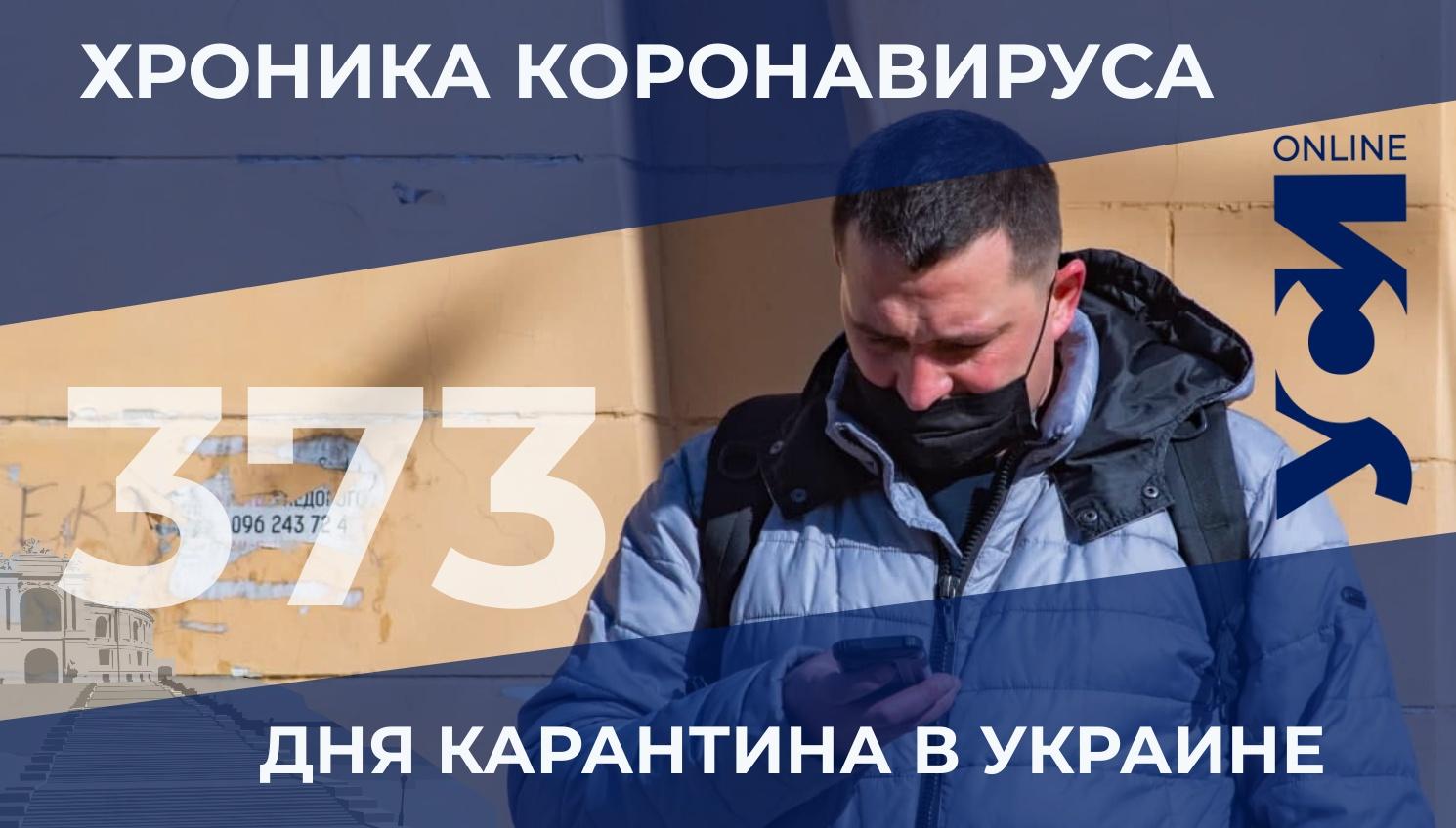 Хроника пандемии: в Одесской области – более 900 новых заболевших «фото»