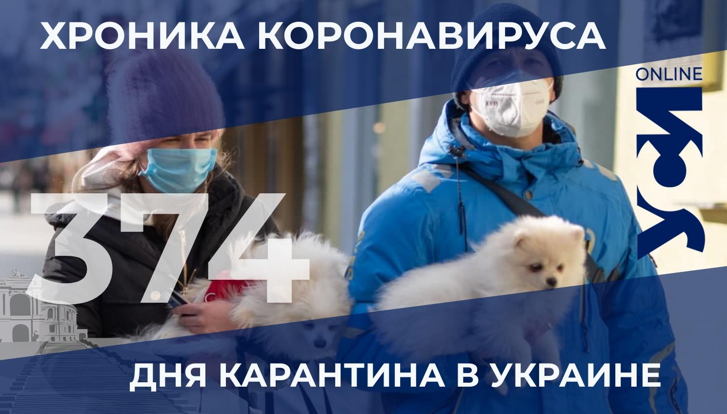 Хроника пандемии: в Одесской области – больше тысячи заболевших «фото»