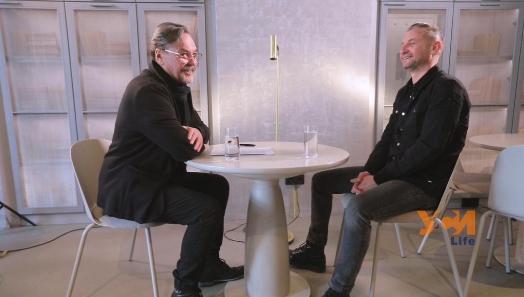 День поэзии: интервью Юрия Андруховича с Сергеем Жаданом (видео) «фото»