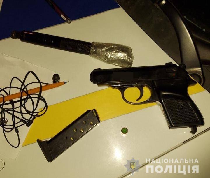 В центре Черноморска подросток гулял с оружием, которое купил через интернет (фото) «фото»