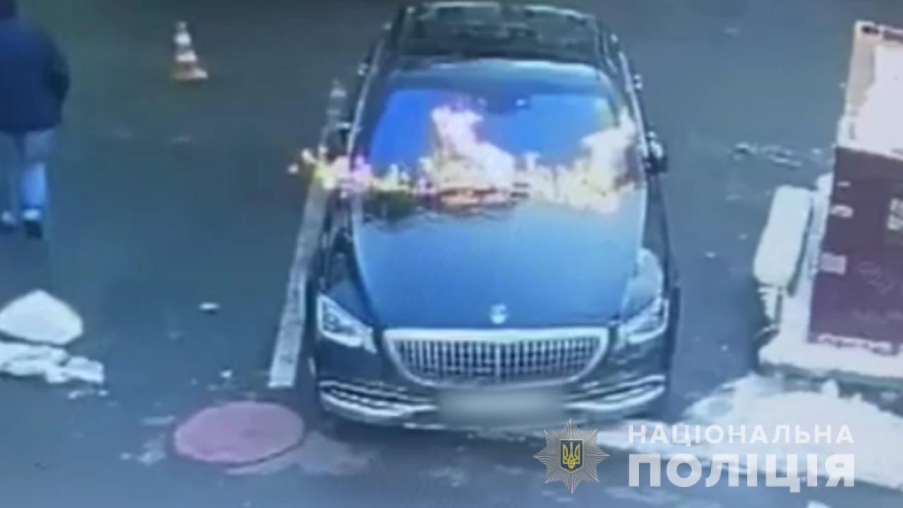 В Одессе задержали поджигателей элитного автомобиля (фото, видео) «фото»