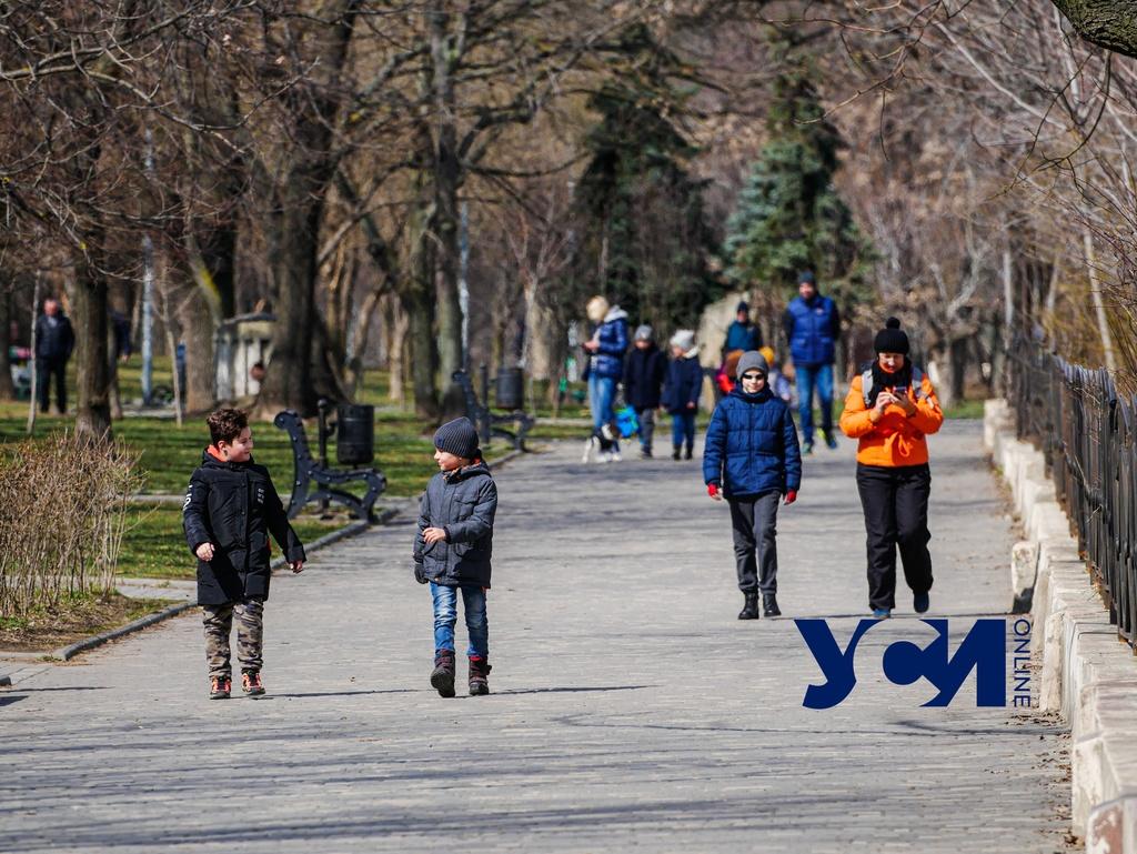 В пятницу Одессе обещают потепление «фото»