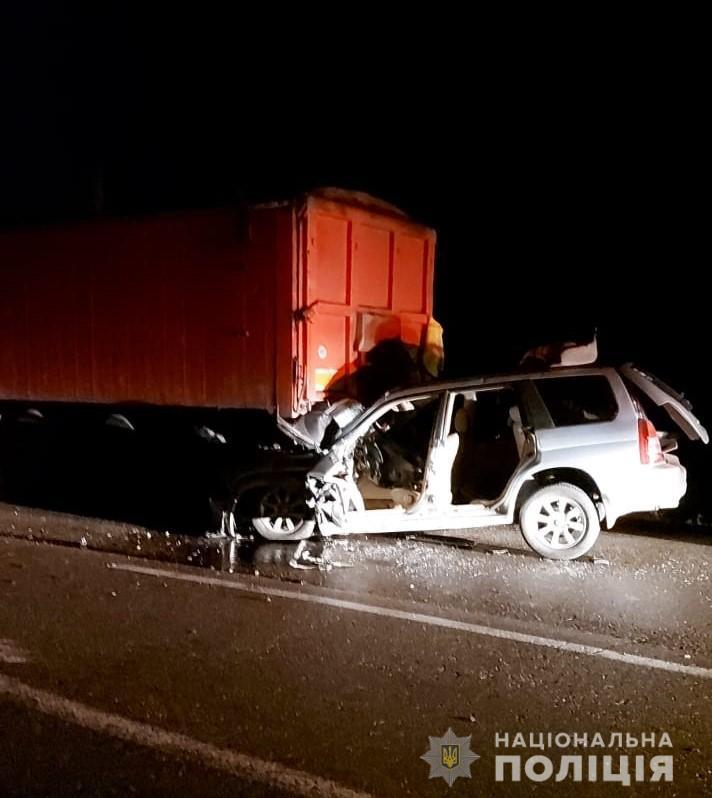 Под Одессой в ДТП погиб полицейский «фото»