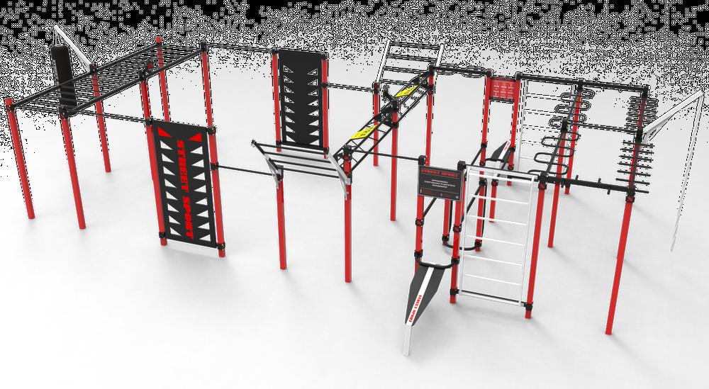 В микрорайоне Курсаки оборудуют спорткомплекс Workout (фото) «фото»